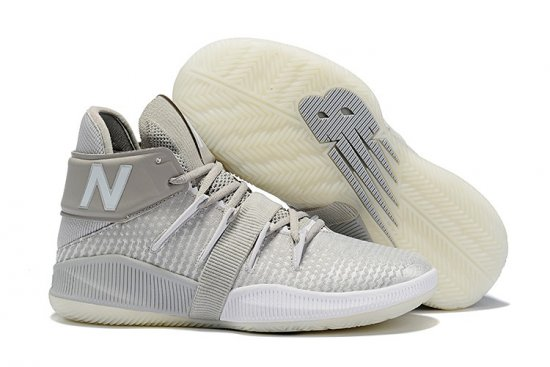 New Balance Kawhi Leonard Shoes Beige White