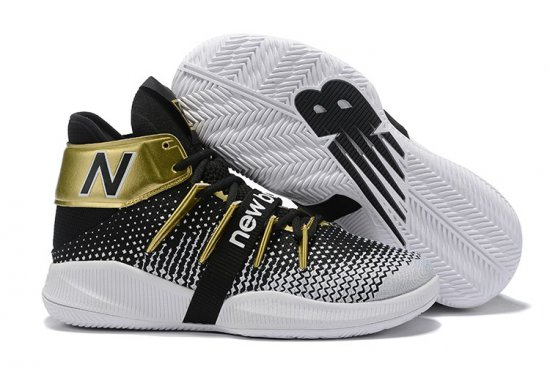 New Balance Kawhi Leonard Shoes Black Gold
