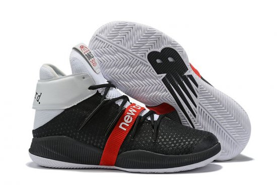 New Balance Kawhi Leonard Shoes Black White Red
