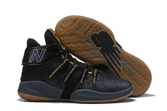 New Balance Kawhi Leonard Shoes Black Yellow