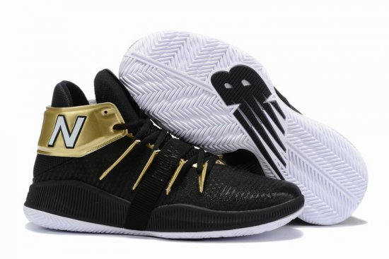New Balance Kawhi Leonard Shoes Gold Black