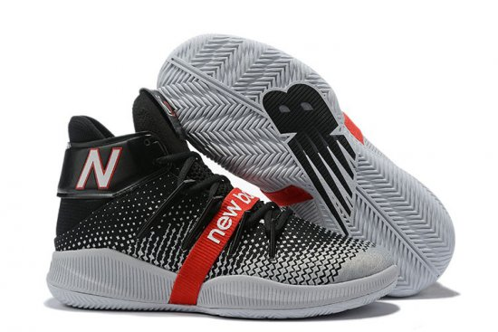 New Balance Kawhi Leonard Shoes Gray Black Red