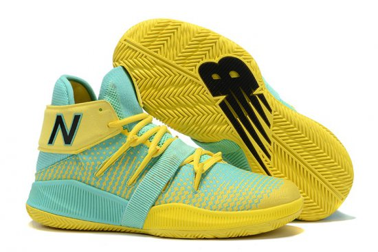 New Balance Kawhi Leonard Shoes Green Yellow