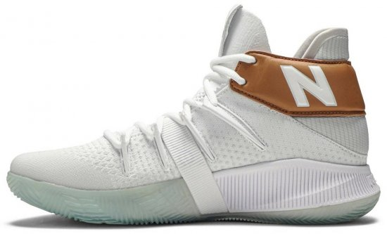 New Balance Kawhi Leonard Shoes White Gold
