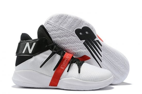 New Balance Kawhi Leonard Shoes White Black Red