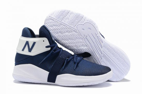New Balance Kawhi Leonard Shoes White Drak Blue